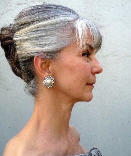 Ältere Hochsteckfrisuren für über 50