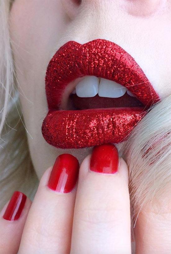 Wie man Lippenstift länger hält