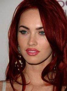 Megan Fox Rubinrot