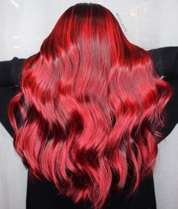 Ruby Red Hair Dye Farbideen