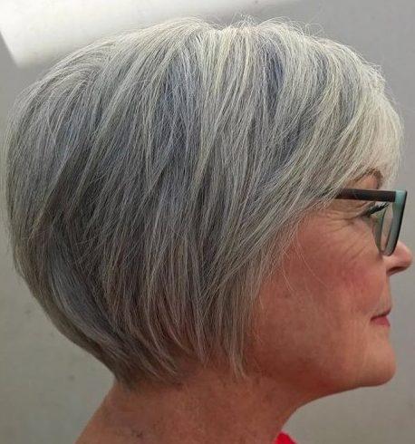 Kurze Bob-Frisuren für über 60