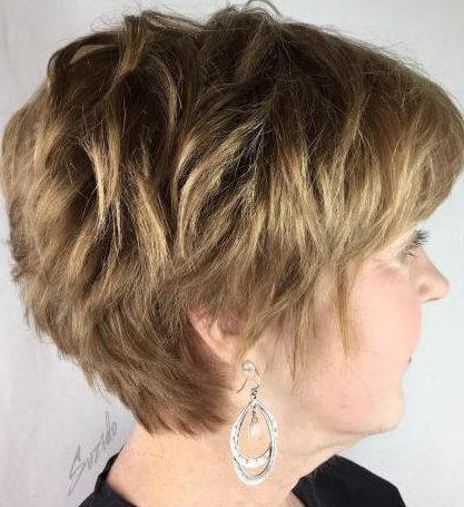 kurze Frisuren für Frauen über 60 mit feinem, dünnem Haar 2794 60 Beste Frisuren und Frisuren für Frauen über 60 nach Maß