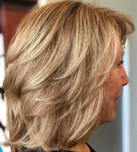 Dünne Haare Frisuren für über 60er Jahre feines Haar