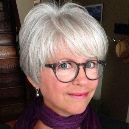ältere kurze Frisuren für feines Haar
