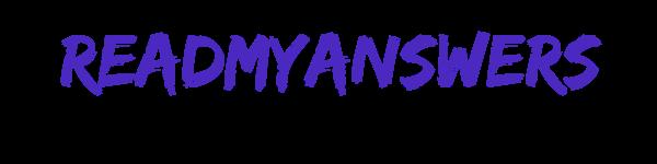 ReadMyAnswers.com