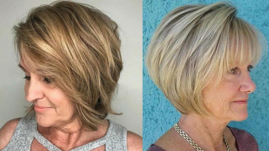 Kurze Bob-Haarschnitte für Frauen über 60 in den Jahren 2021-2022