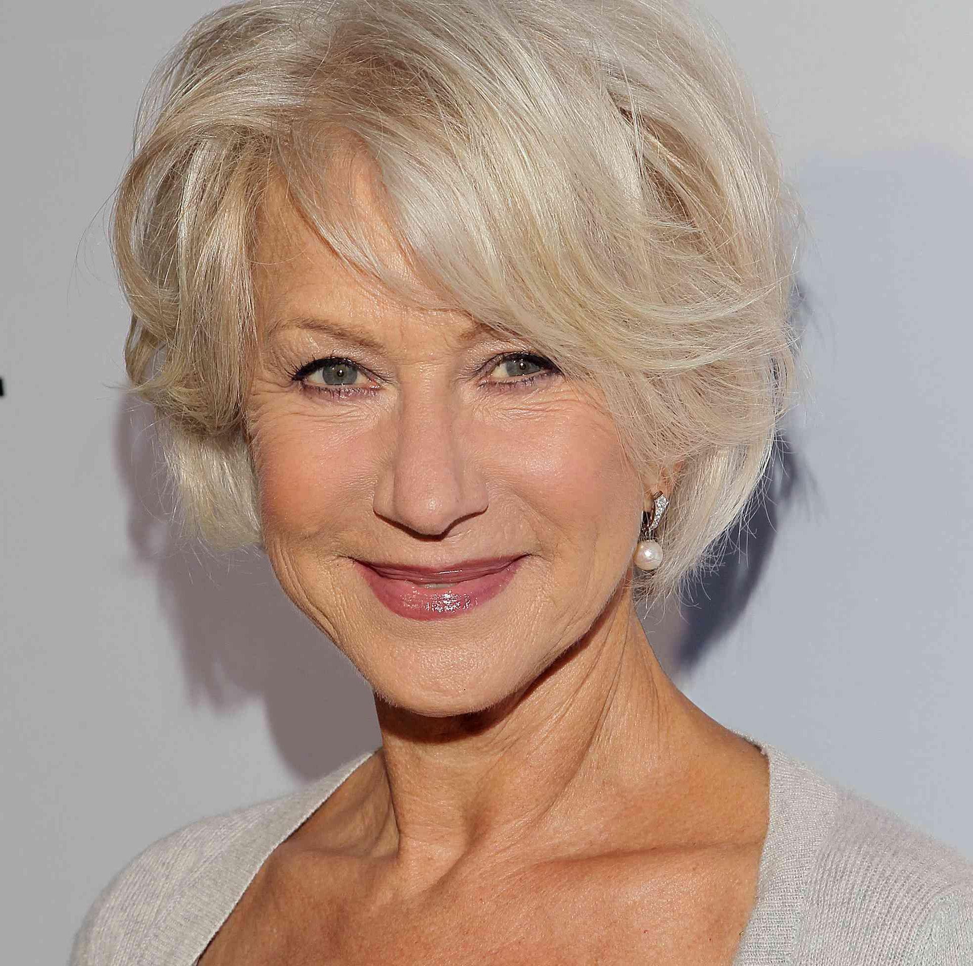 Seniorenfrisuren für Senioren mit dünnem Haar