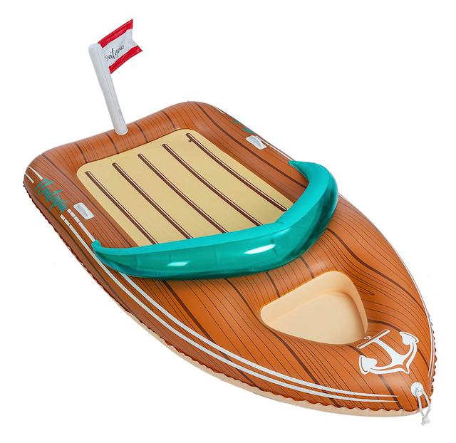 JOYIN Giant Inflatable Boat Pool Float