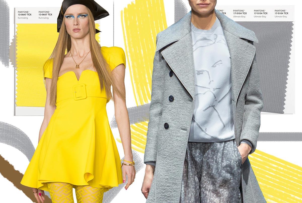 Pantone-Farben des Jahres 2021: Ultimate Grey + Illuminating