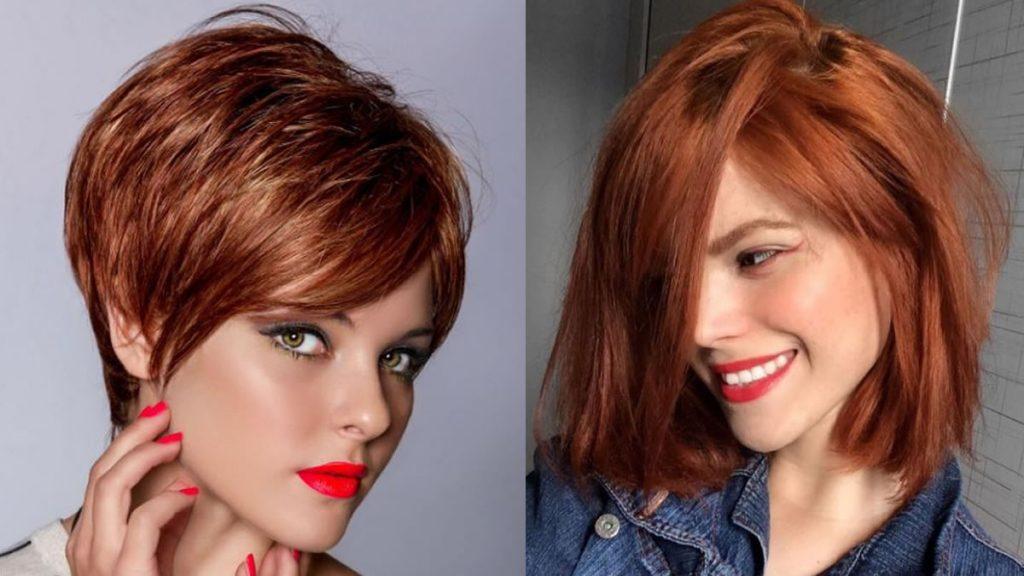 Rote Haarfarbe Ideen in 2021-2022