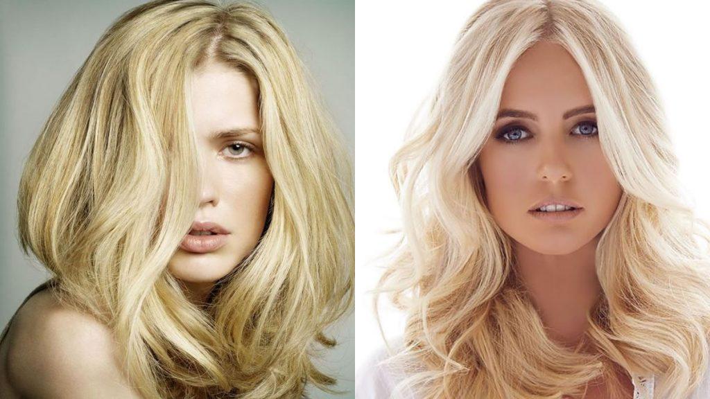 Blonde Haarfarben für langes Haar in den Jahren 2021-2022