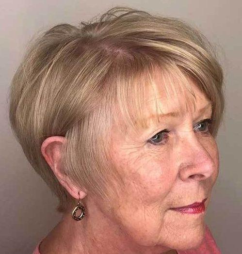 kurze Frisuren Frisuren für über 70