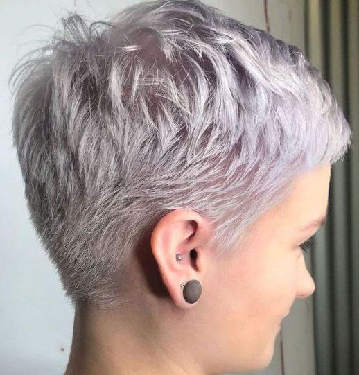 Pixie Frisuren für über 70