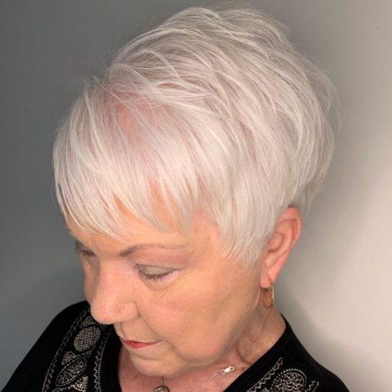 dünnes Haar kurze Frisuren für feines Haar über 70