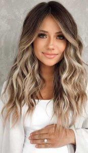toasty blonde ombre