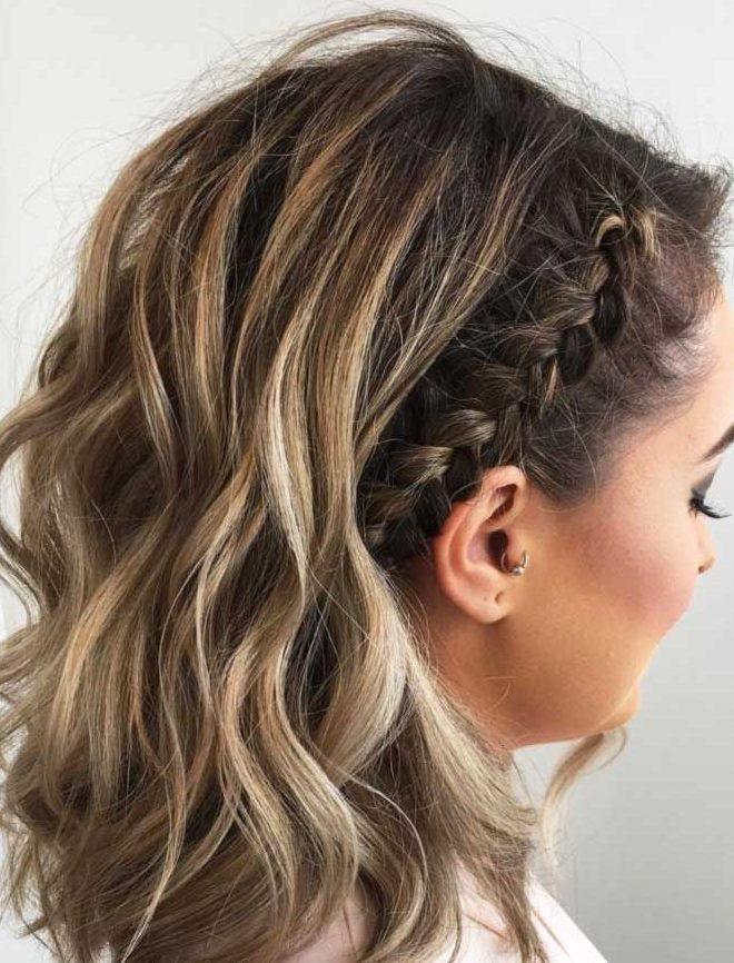 Zöpfe Frisuren für kurzes Haar