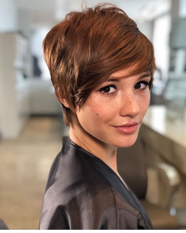 2021 kurze Haare für Frauen