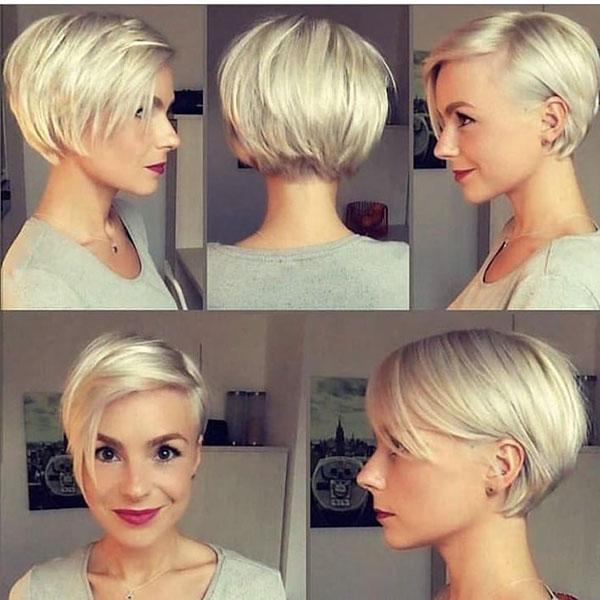 kurze Haare schneiden Frauen