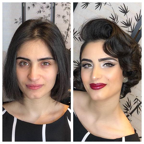 Bilder von kurzen Haarschnitten für 2021