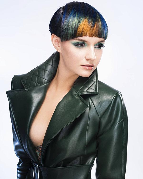 2021 Haarschnitte weibliches kurzes Haar