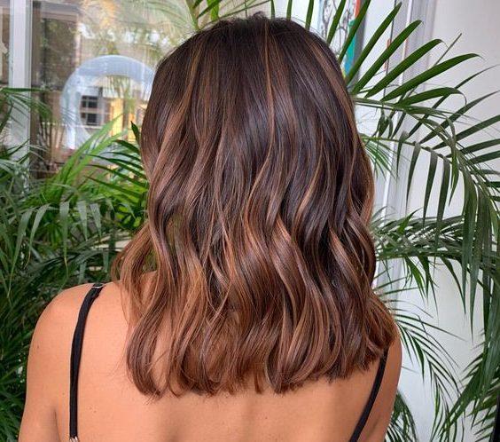 Sommer Haarfarbe