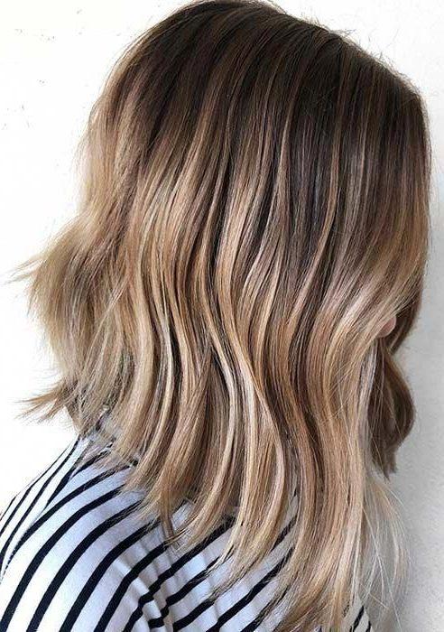 dünnes Haar langer Bob-Haarschnitt
