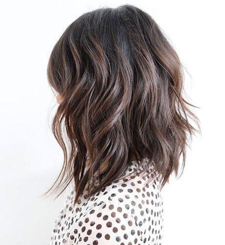 dickes Haar schulterlange Frisuren