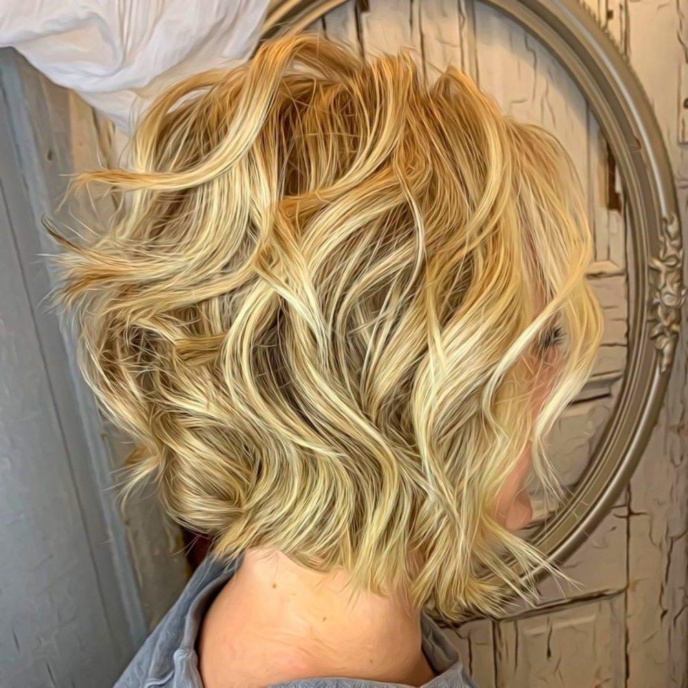dünnes Haar für ältere Frauen