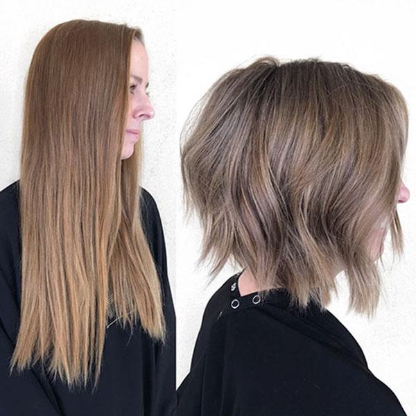 kurze Haare Bob Frauen