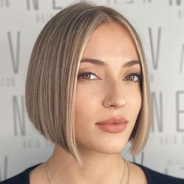 kurze Bob-Frisuren für 2021