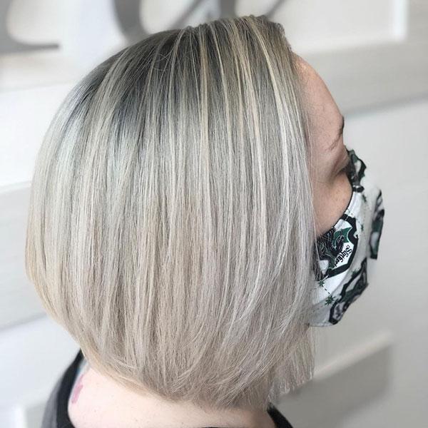 kurze Haarschnitte für Bob-Frauen
