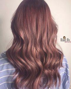 brauner Erdbeerton