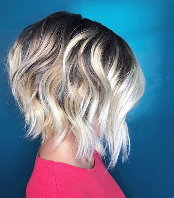 Frisuren für Bobschnitte