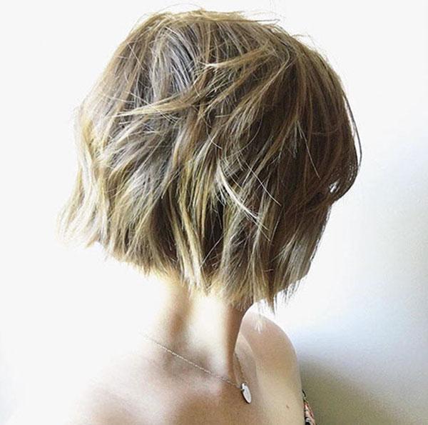 Fotos von kurzen Bob-Frisuren