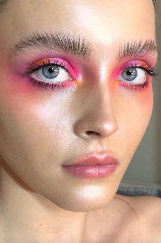 So wählen Sie den besten rosa Lidschatten für Ihre Augenfarbe