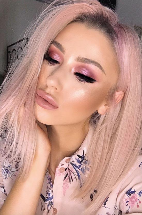 Pink Eye Makeup Tipps & Ideen