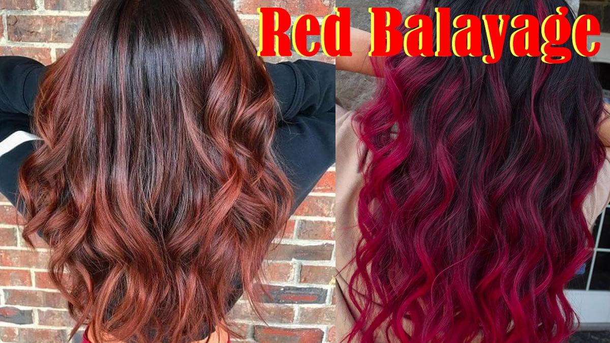 30 neue rote Haarfarbtöne