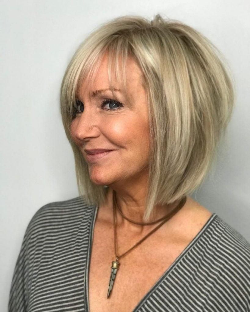 Bob Haarschnitte für Frauen über 60 in 2021-2022