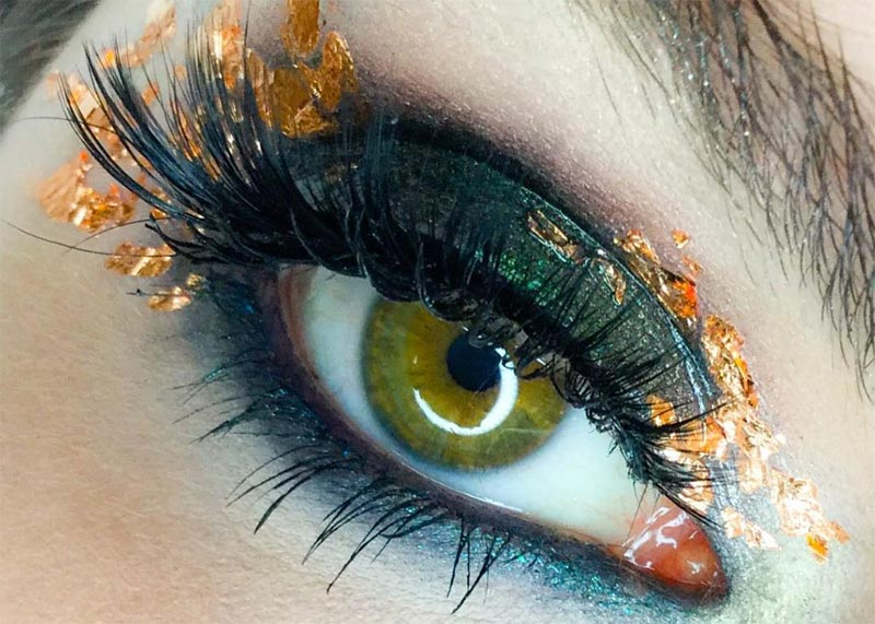 So tragen Sie Green Eyeshadow auf