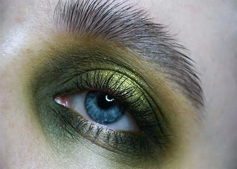 Make-up-Tipps für grüne Augen