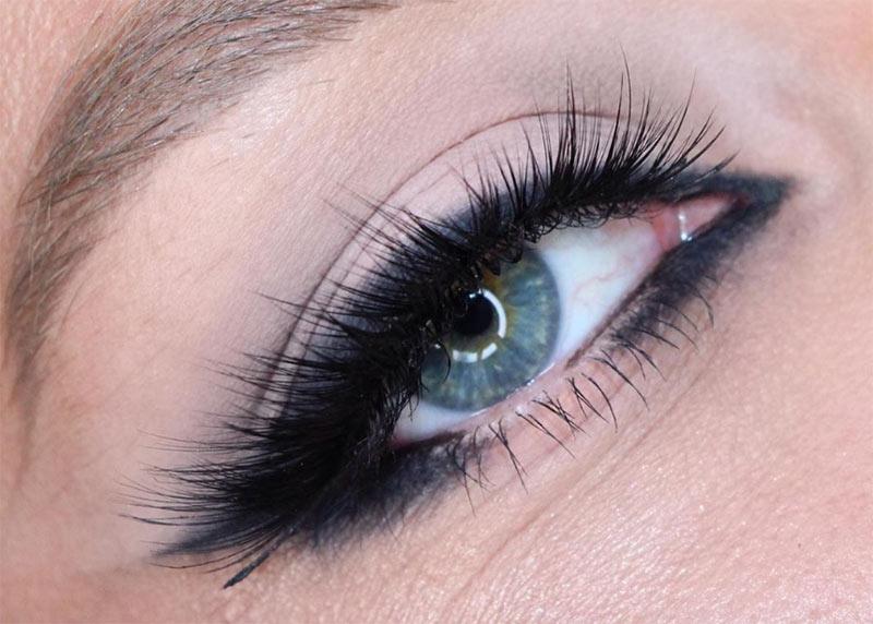 Verwendung von Gel Eyeliner