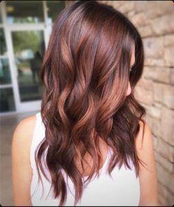 Chestnut Auburn Haarfarbe