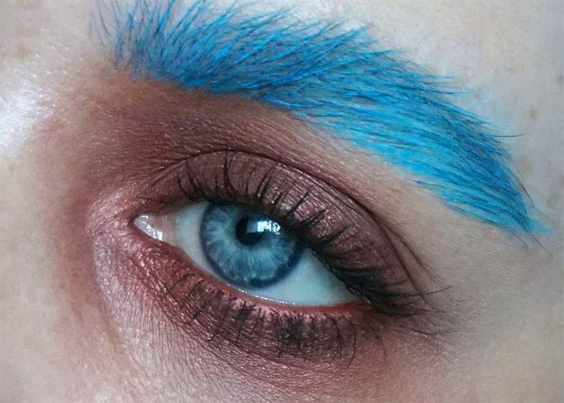 Beste einzelne Lidschattenfarben für blaue Augen