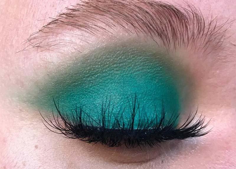 Beste einzelne Lidschattenfarben für braune Augen