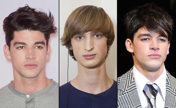 runde Frisuren für Männer