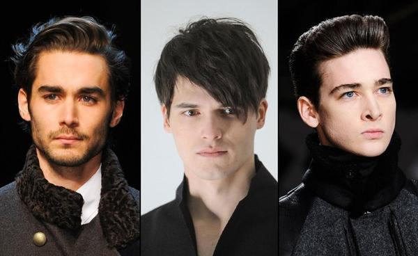 ovale Frisuren für Männer