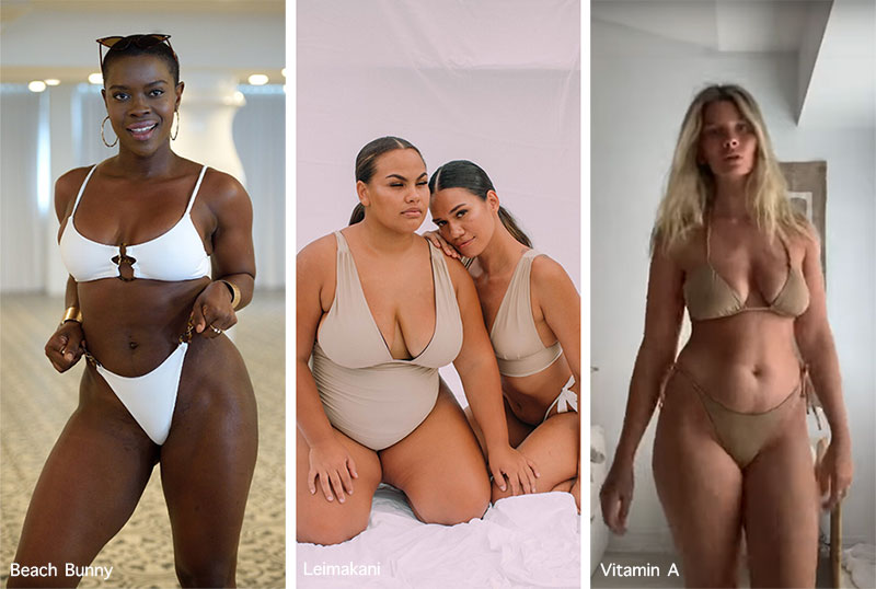 Bademode-Trends Frühjahr / Sommer 2021: Körpervielfalt