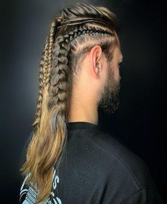 Erstaunlicher langer Schwanz-Haarschnitt