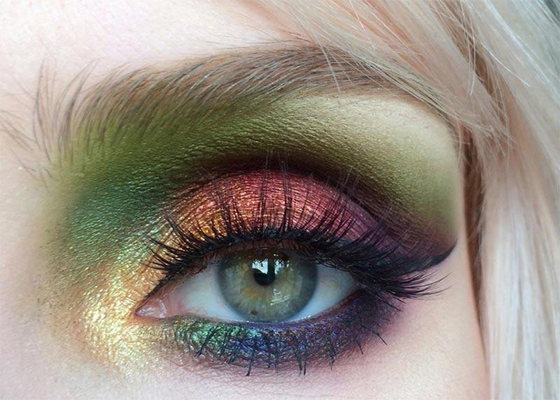 Gel Eyeliner Make-up Ideen
