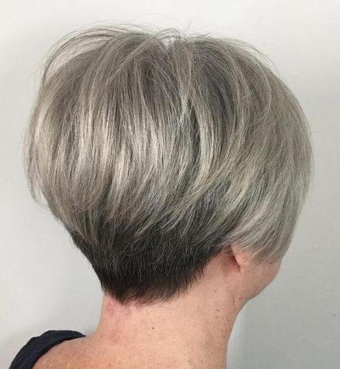 alte Frau Frisuren für über 70